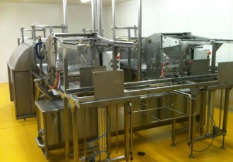 New mill honey extractor
